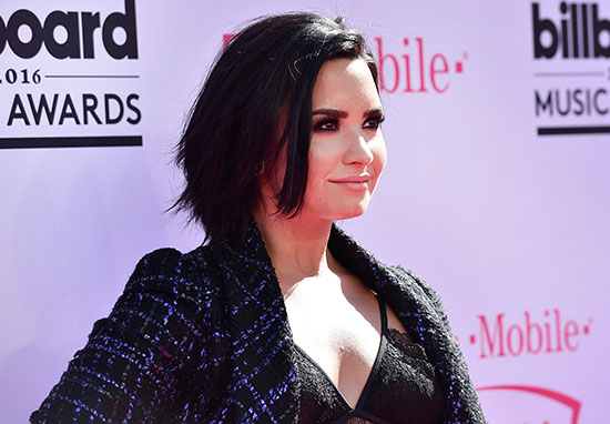 Demi Lovato Speaks Out For First Time Since Overdose demiGETTY