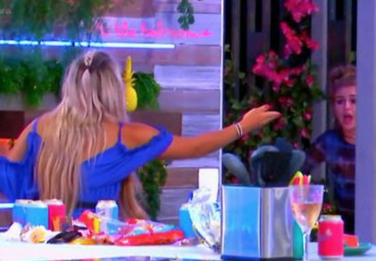 Love Island Goes Into Meltdown As Girls Have To Be Separated During Fight elliegeorgia1