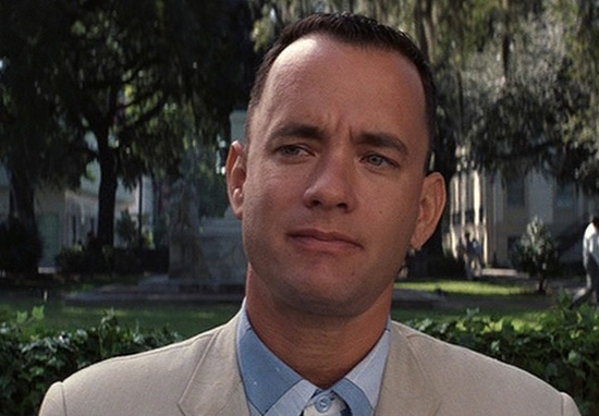 Tom Hanks Forrest Gumop