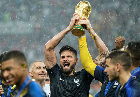 Olivier Giroud Wins World Cup Without A Single Shot On Target giroud1