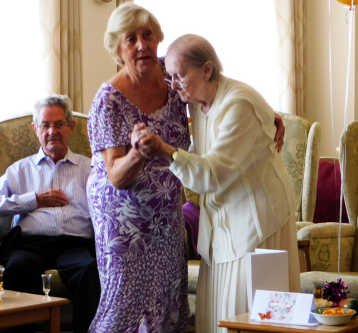 Eileen Maher has just celebrated her 100th birthday