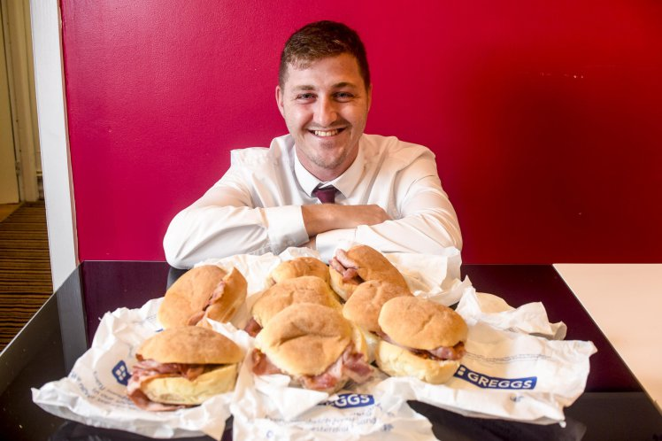 Guy Spends £5,000 On Greggs Every Year And Says He Cant Live Without It greggs