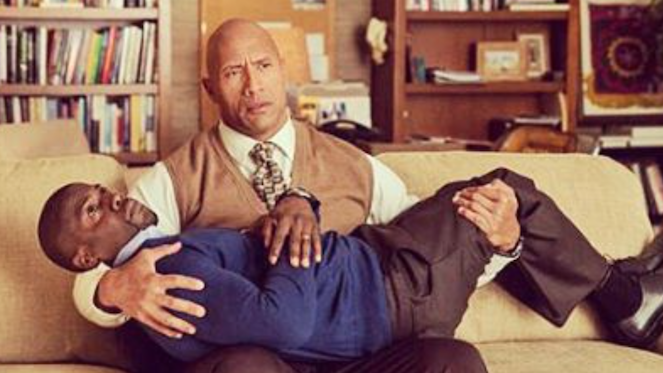 The Rock Takes His Baby Kevin Hart Trolling To The Next Level jumanji rock insta