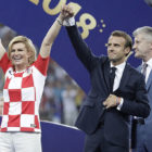 Croatia President Wins Everyone's Heart With Her Huge Support For The Team