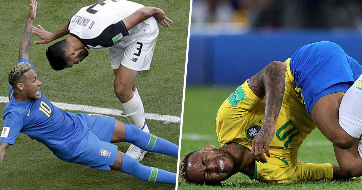 Neymar Challenge Goes Viral As Fans Troll Him For World Cup Dives neymarC