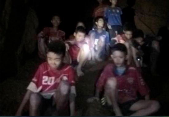 Thai Boys Rescued From Cave Recovering In Hospital In High Spirits thai boys