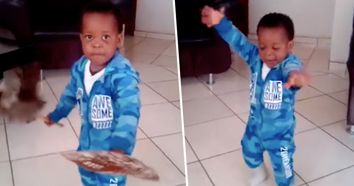 Toddler Zulu Dancing