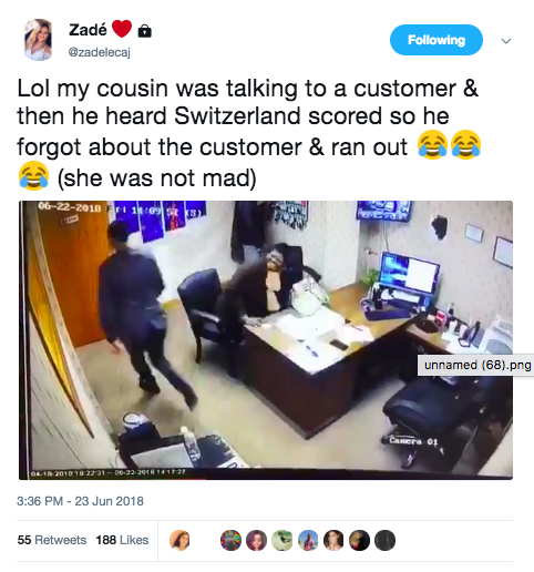 Guy Runs Out On Customer When He Hears World Cup Goal unnamed 71