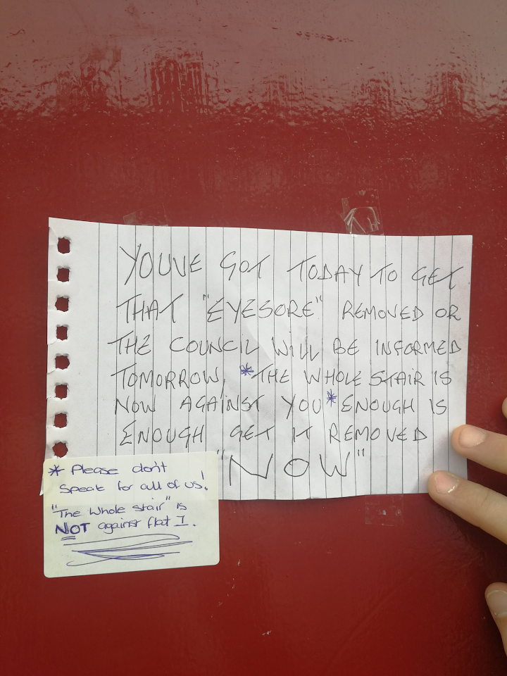Woman Gets Into Hilarious Note War With Her Angry Neighbour unnamed 96