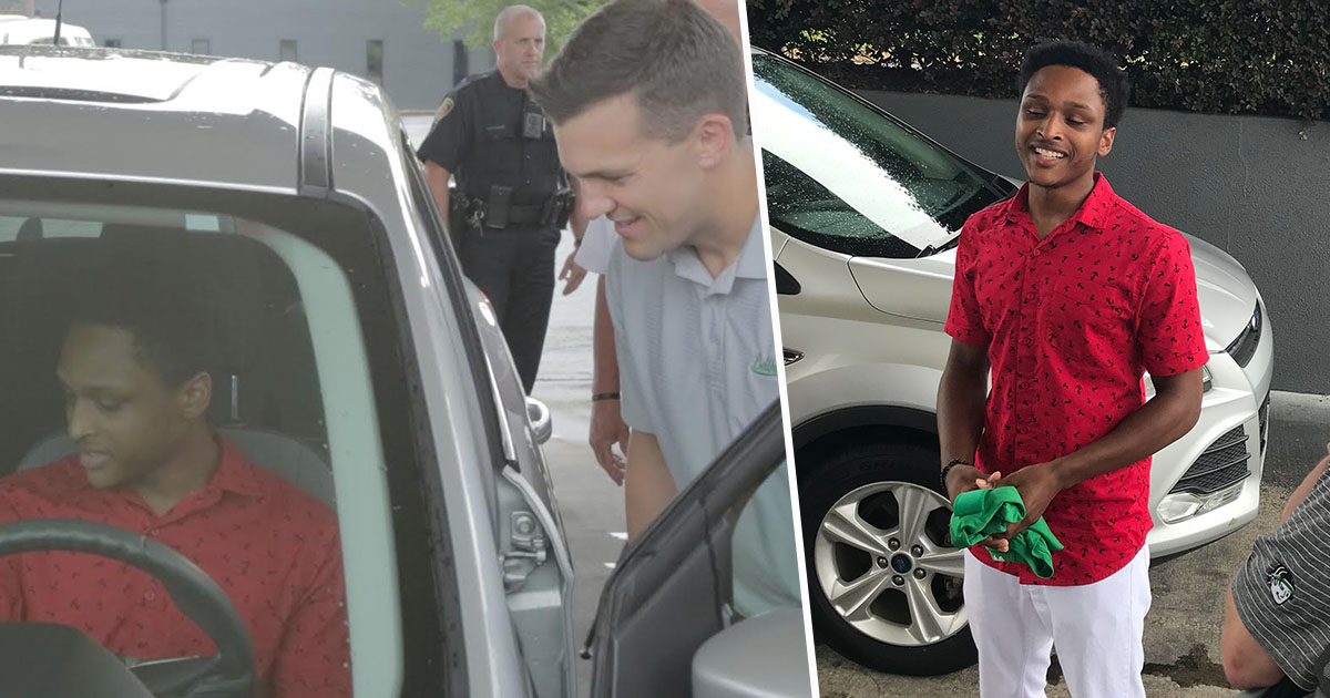 Student Who Walked 20 Miles So He Wouldnt Miss Work Given Car By CEO walterA
