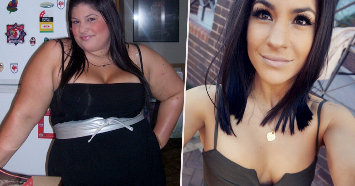 9013be123bb26 Dangerously Obese Woman Forced To Wear Maternity Clothes Loses Half Her  Body Weight