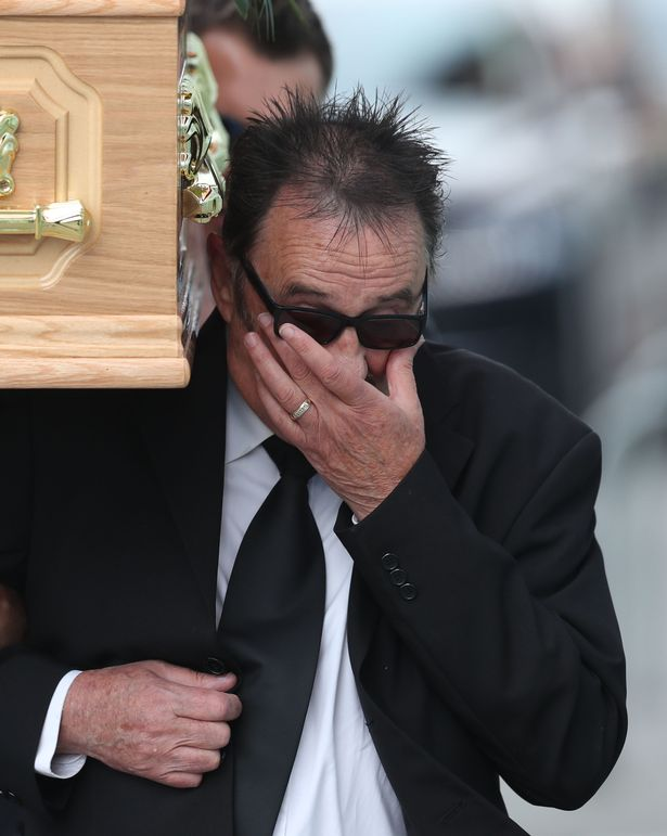 Paul Chuckle funeral