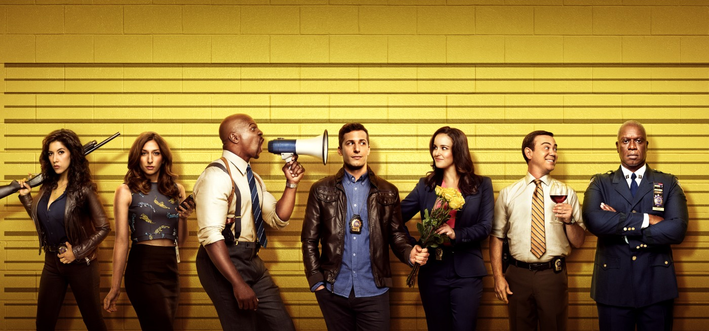 Brooklyn Nine Nine promo lineup