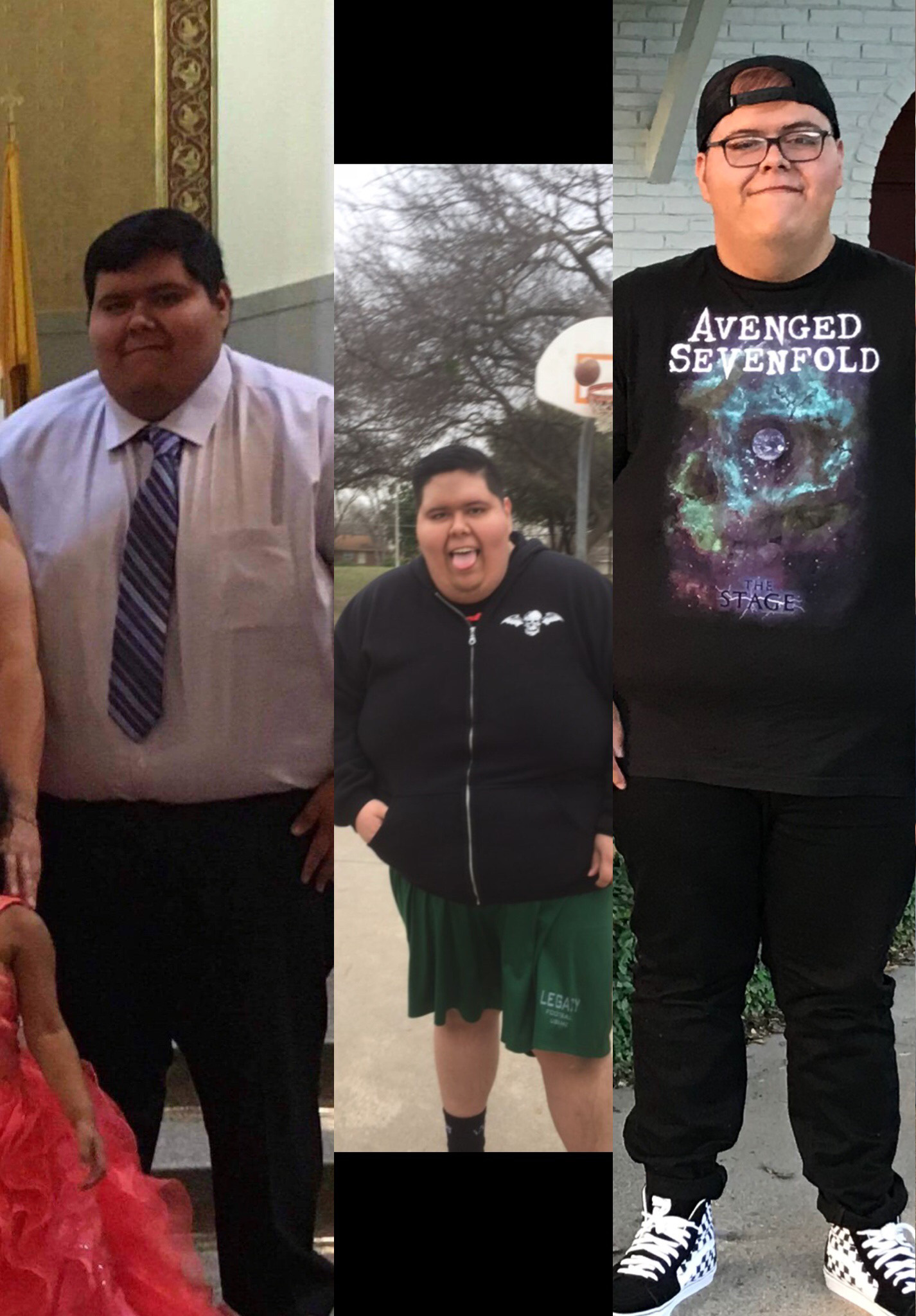 Guy before he lost weight