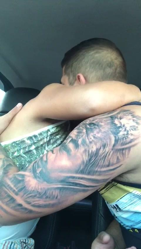 Big Brother Gets Tattoo Of Little Brother With Downs Syndrome On Arm, He Loves it Brother shows off new tattoo 2