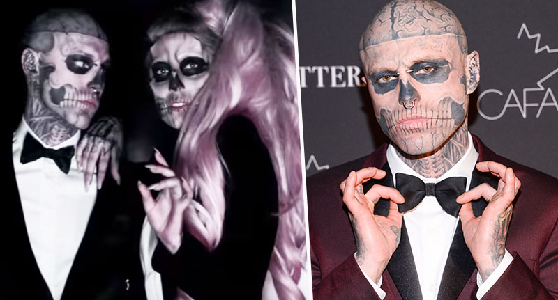 'Zombie Boy' Rick Genest Who Starred In 'Born This Way' Video, Found Dead Aged 32