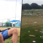 Guy Wakes Up At Festival To Find Everyone Has Gone