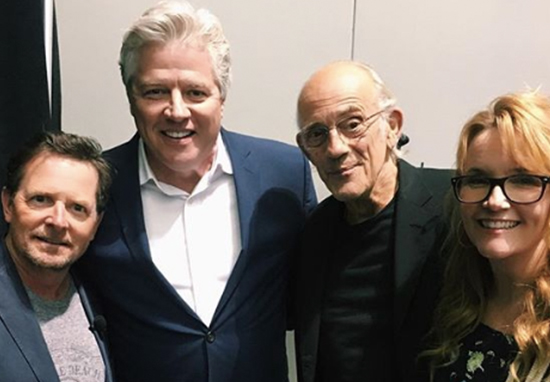 Picture sparks hope for Back to the Future reunion.
