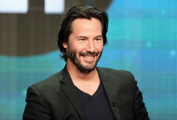 Keanu Reeves panel Side by Side