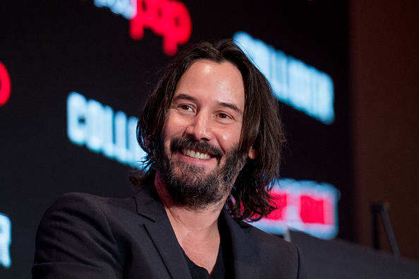 Keanu Reeves Comic Con