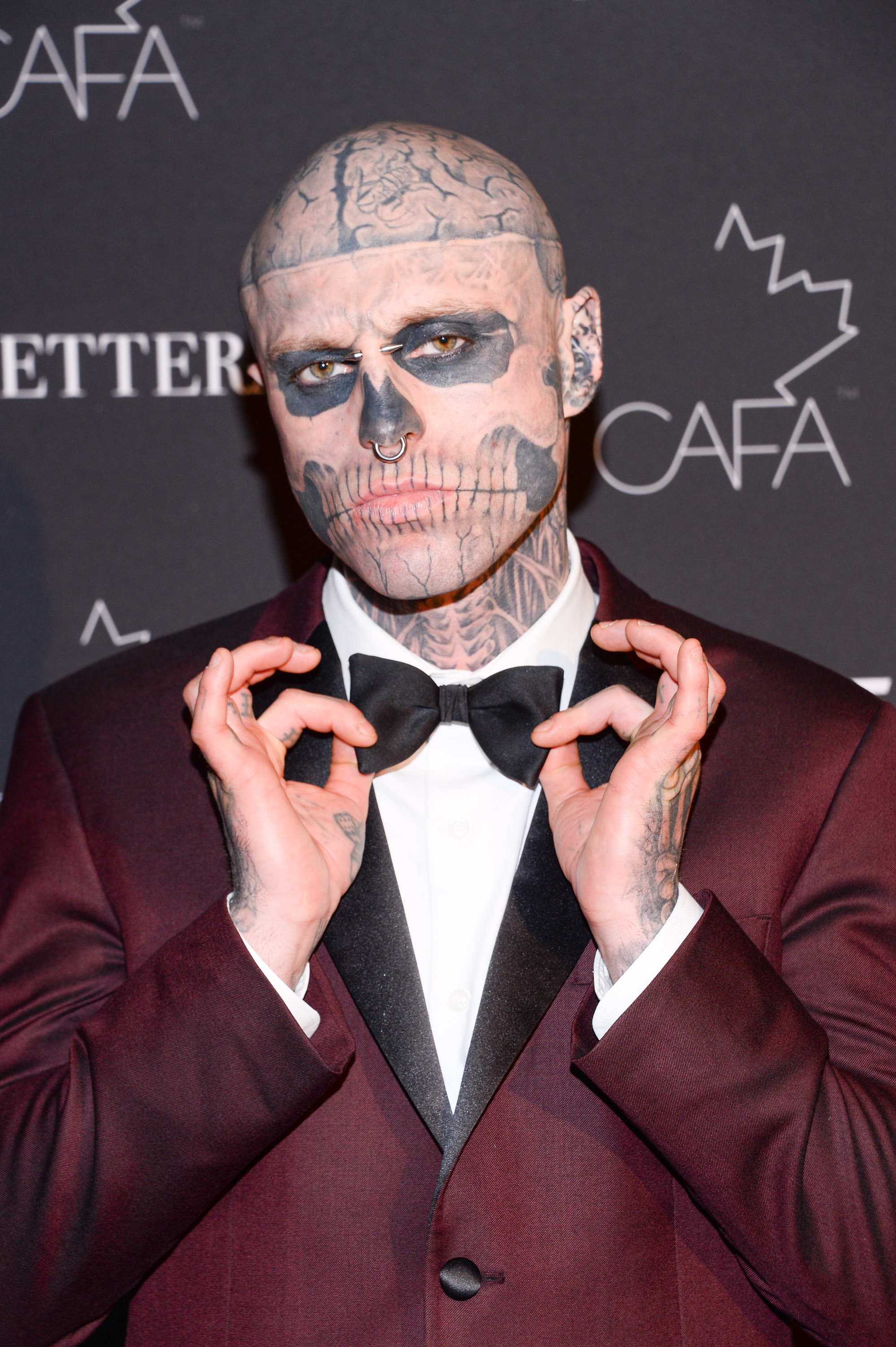 Zombie Boy Rick Genest Who Starred In Born This Way Video, Found Dead Aged 32 GettyImages 949300890