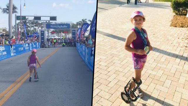 Mum Shares Incredible Moment Disabled Daughter Finishes 5K Run Kidrun face