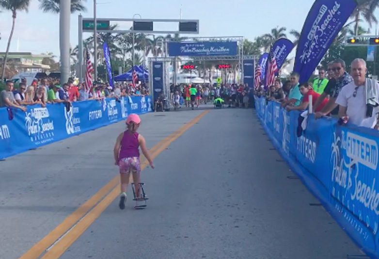 Mum Shares Incredible Moment Disabled Daughter Finishes 5K Run Kidrun web
