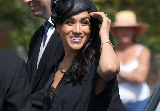 Meghan Markle Accidentally Flashes Bra And Causes Huge Backlash MeghanMarkle1