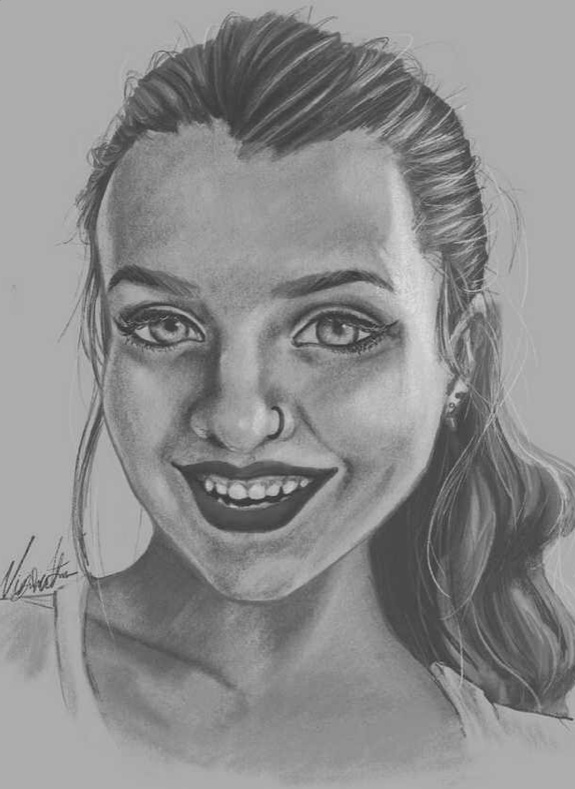 Sketch of girl