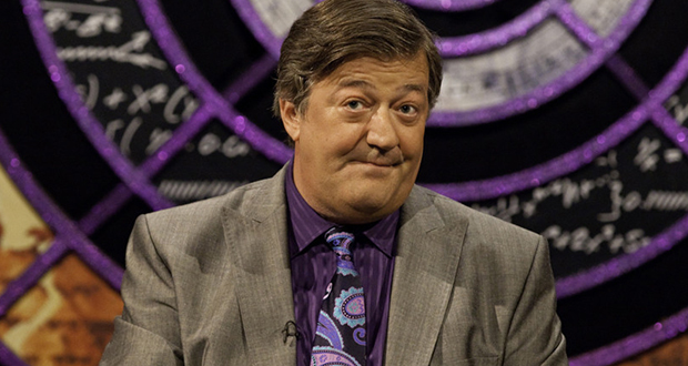 Stephen Fry in QI