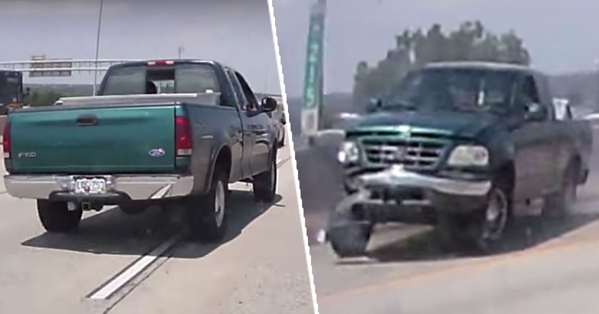Road Rage Driver Gets Instant Karma After Swerving Across Highway Road rage fail main thumb