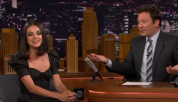 Mila Kunis The Tonight Show