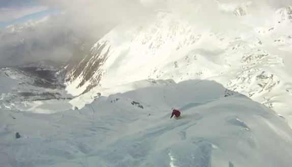 Skier almost dies during avalanche