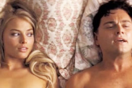 Wolf of Wall Street, Margot Robbie and Leo DiCaprio