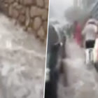 Benidorm Tourists Flee Beach After Floods Turn Streets Into Rivers