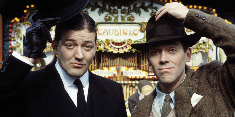 Stephen Fry in Jeeves and Worcester