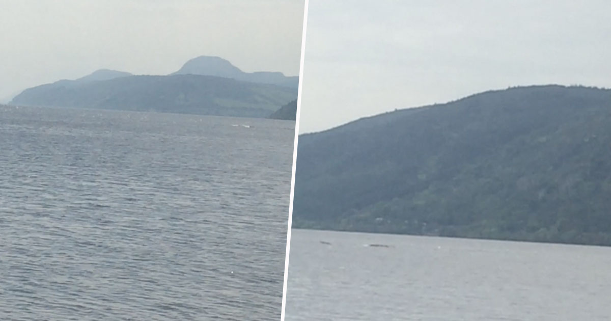 Tourist Films Something Strange Swimming In Loch Ness