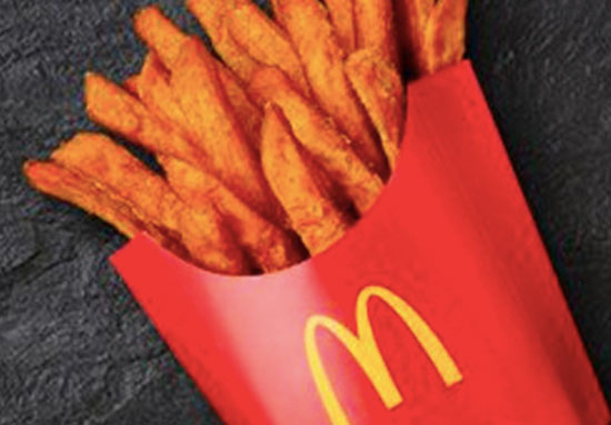 Sweet Potato Fries At McDonalds Now Exist And They're Incredible mcdonalds sweet fries