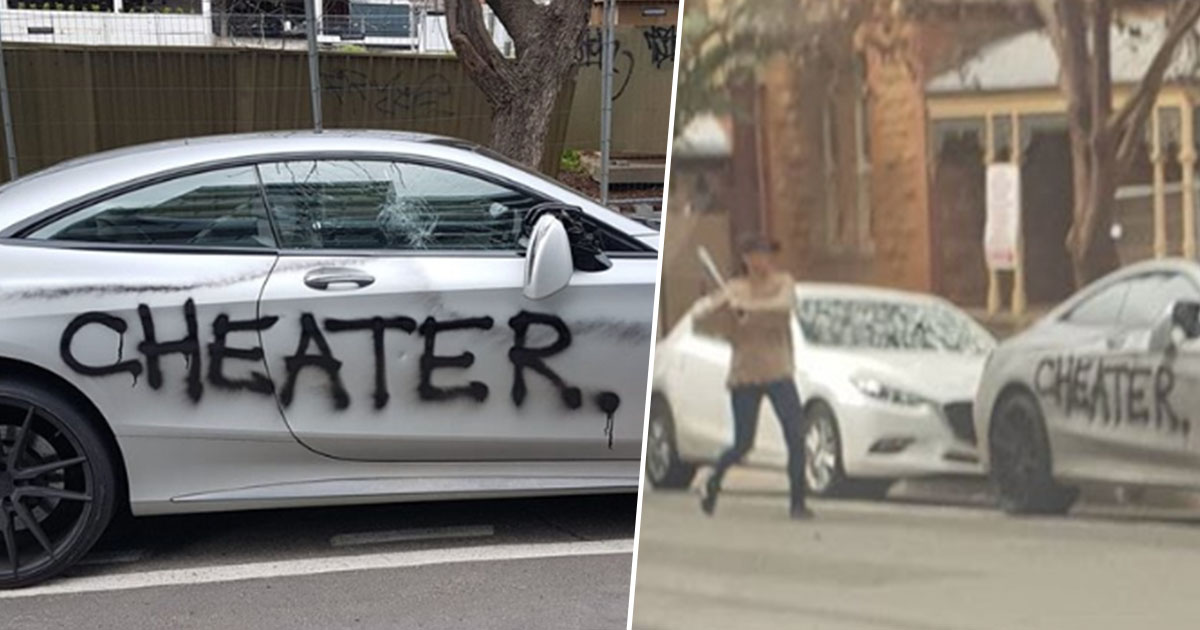 Woman Who Vandalised 'Cheating' Ex's $400,000 Car Won't Be Charged