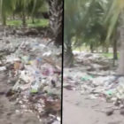 Shocking Footage Shows Mountain Of Plastic On Beach