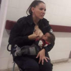 Police Officer Praised For Breastfeeding Neglected Baby