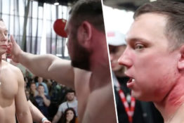 Russian slapping contest