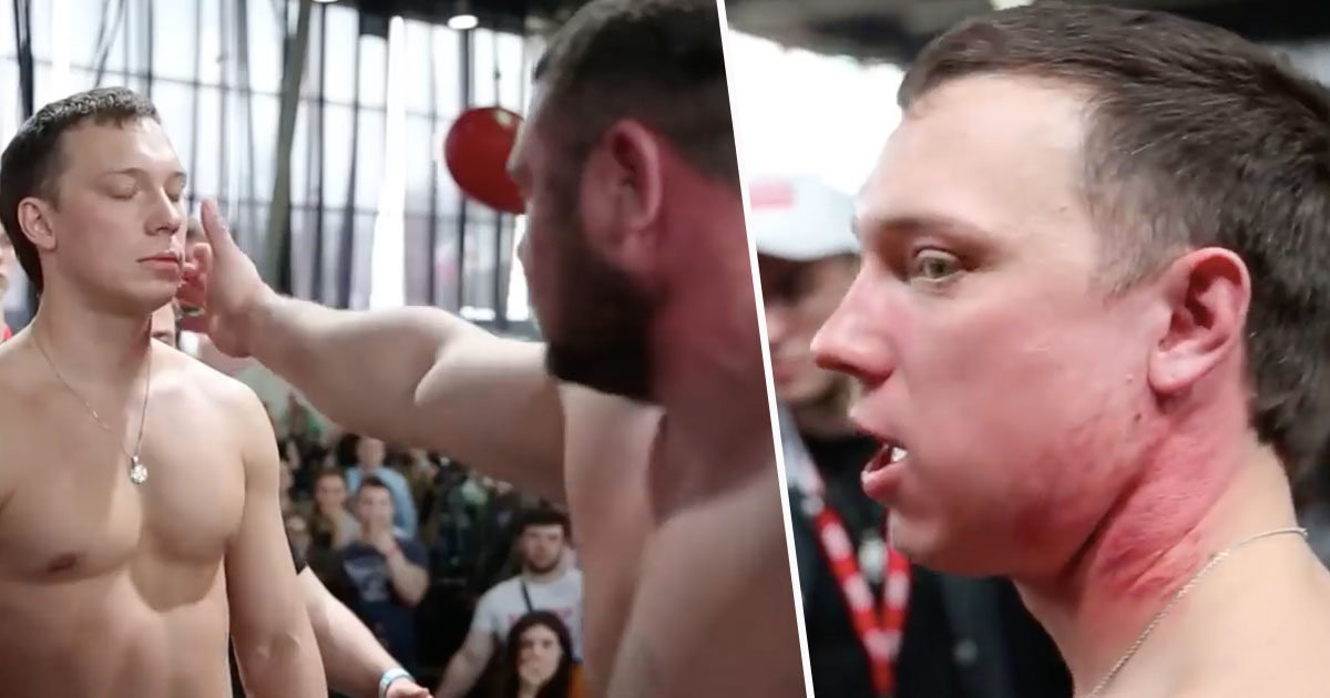 Russian Slapping Contest Is The Most Brutal Sport In The World slap1RUSSIANBEARS