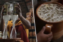 massive tequila cocktail