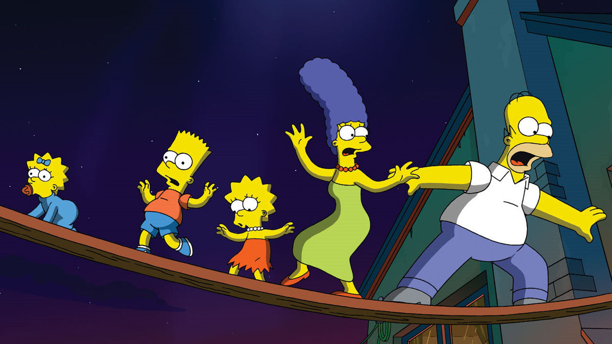 simpsons movie 2007 homer marge bart maggie lisa