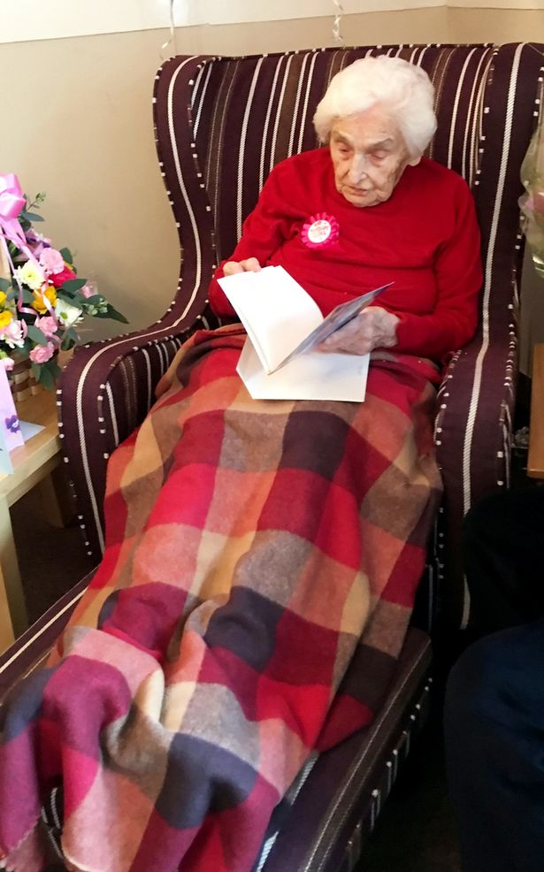105 year old woman