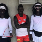 Football Players Wear Blackface To Impersonate Serena And Venus Williams