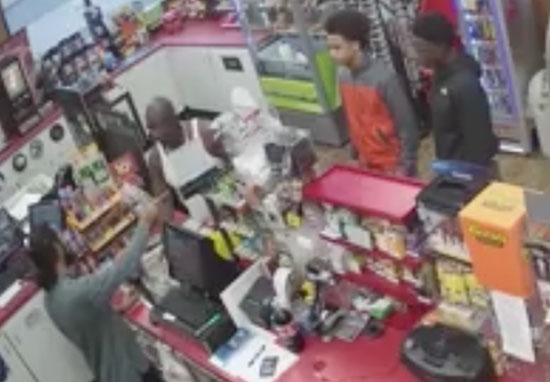 Teens leave shop keeper to die while they rob store
