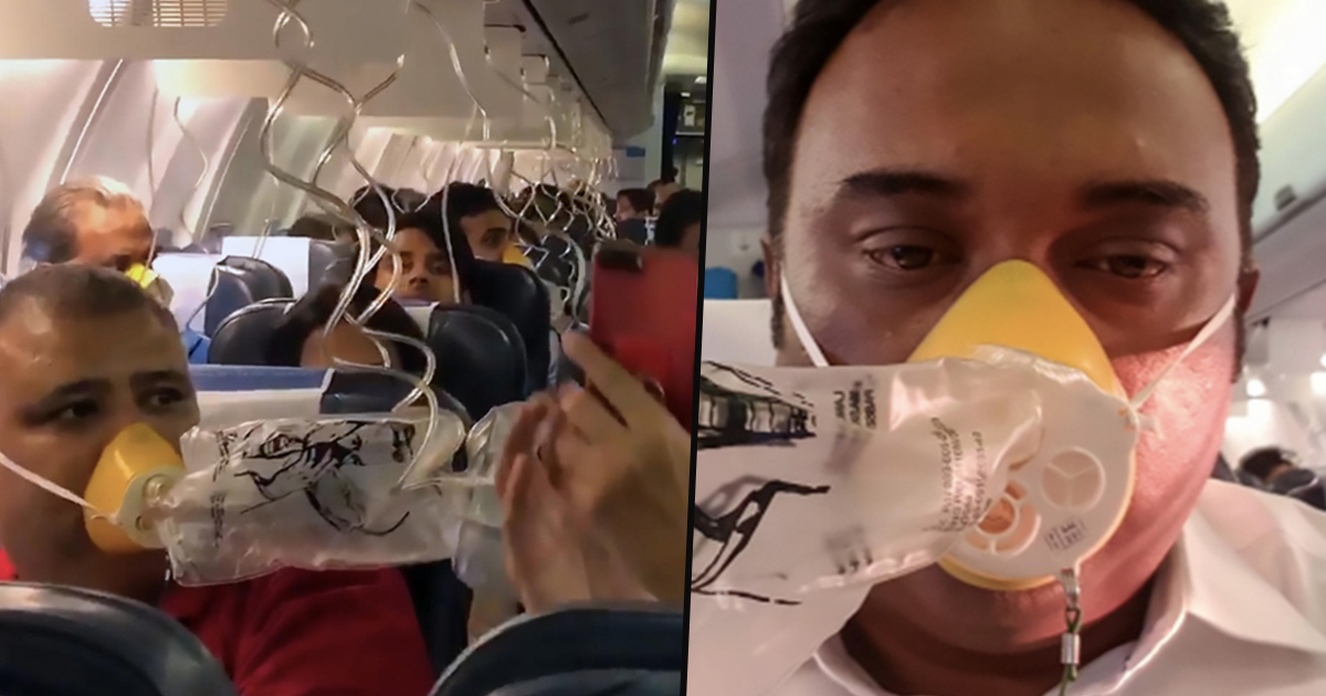 Jet Airways forgets to put on the cabin pressure system,