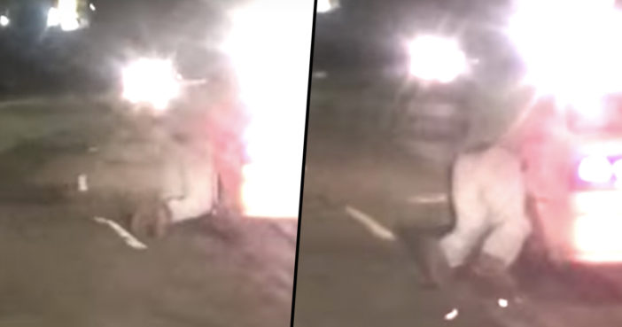 Shocking Footage Shows Guy Hanging Onto His Stolen Car As It Speeds Away Carjacking B 702x369